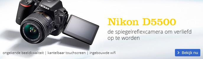 Nikon D5500 | de spiegelreflexcamera om verliefd op te worden