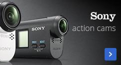 De nieuwste Sony action cams | net zo hard als jouw acties