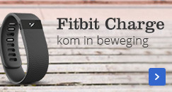Fitbit Charge kom in beweging