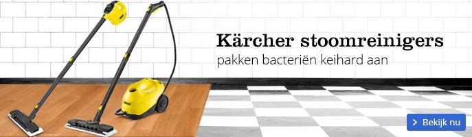 Kärcher stoomreinigers pakken bacteriën keihard aan