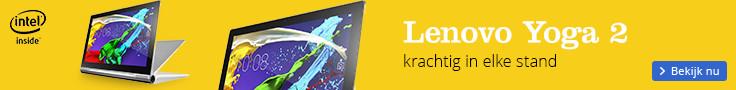 Lenovo Yoga 2 | krachtig in elke stand