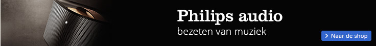 Philips audio bezeten van muziek