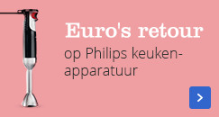 Euro's retour op Philips keukenapparatuur