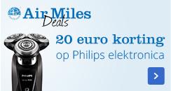 Nu 20 euro extra korting | op veel Philips producten