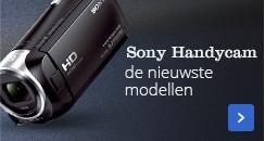 Sony Handycam | de nieuwste modellen