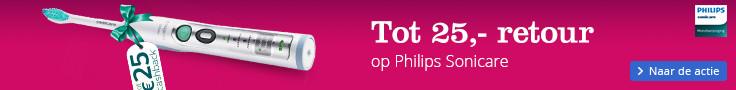 Tot 25,- retour | op Philips Sonicare