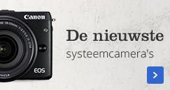 De nieuwste systeemcamera's