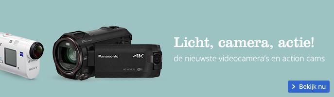 Licht, camera, actie! de nieuwste videocamera's en action cams