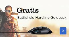Gratis Battlefield Hardline Goldpack