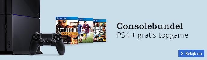 Voordeelbundel PS4 console + gratis topgame