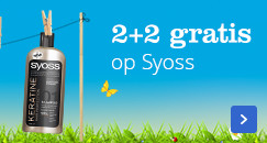 2+2 gratis op Syoss