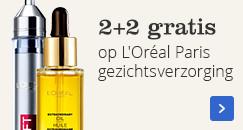 2+2 gratis | op L'Oréal Paris gezichtsverzorging