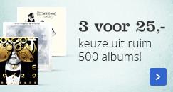 3 cd's voor 25,- | keuze uit ruim 500 albums!