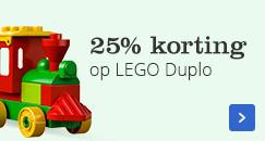 25% korting op LEGO Duplo