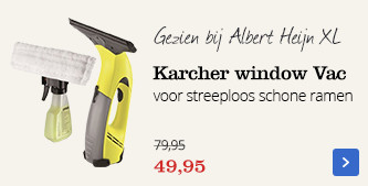 Karcher window Vac | streeploos schone ramen