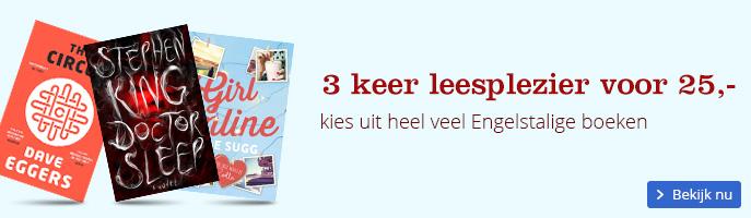 Nu internationale boeken 3 voor 25 euro