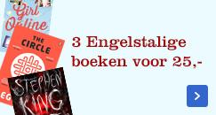 Internatopnale boeken nu 3 voor 25 euro