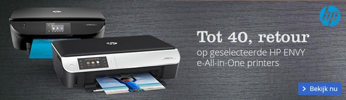 Tot 40, retour | op geselecteerde HP ENVY e-All-in-One printers