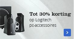 Tot 30% korting | op Logitech pc-accessoires