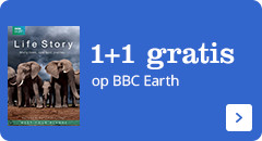 1+1 gratis op BBC Earth series!