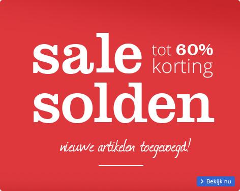 Sale solden | tot 60% korting