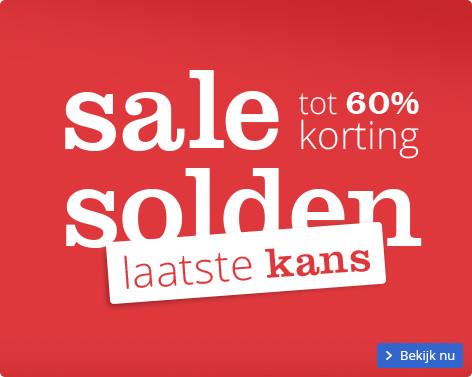 Sale solden | tot 60% korting - laatste kans