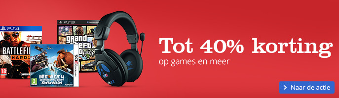 Sale|Solden tot 40% korting op meer dan games