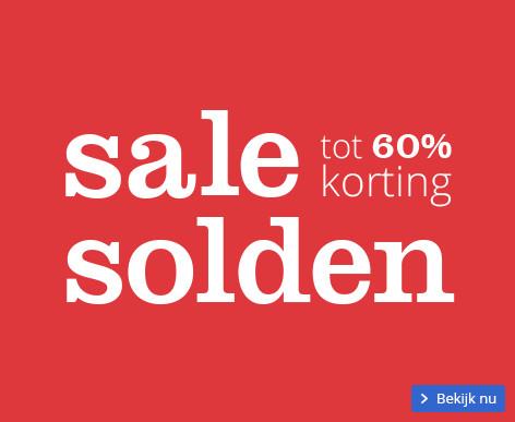 sale/solden tot 60% korting