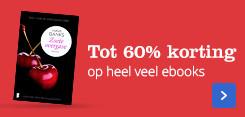 Tot 60% korting op ebooks