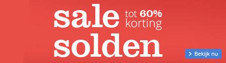 sale/solden - tot 60% korting