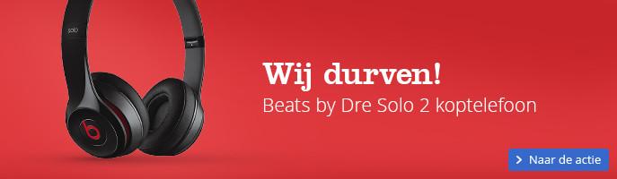 Wij durven! Beats by Dre Solo 2 koptelefoon