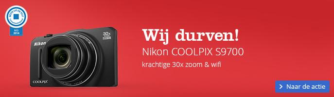 Wij durven! Nikon COOLPIX S9700