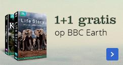 1+1 gratis op BBC Earth
