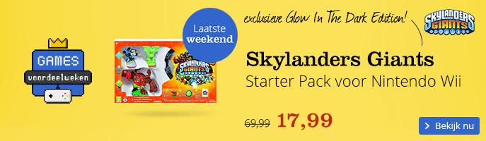 Skylanders Giants Starter Pack voor Nintendo Wii