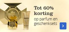 Tot 60% korting op parfums en geschenksets