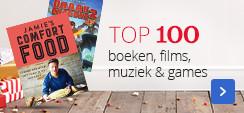Top 100 boeken, films, muziek & games