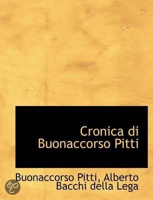 Cronica Di Buonaccorso Pitti