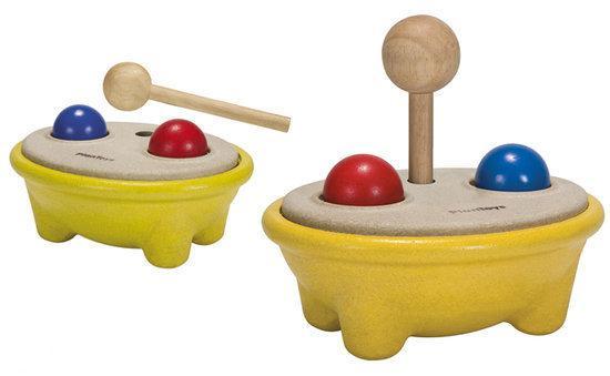 Hamerbank plan toys houten speelgoed