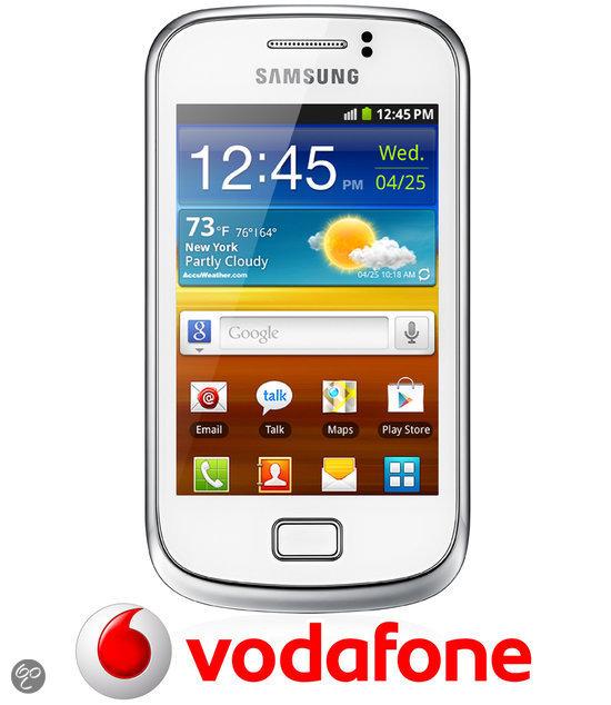 Samsung Galaxy Mini 2 - Wit - Vodafone prepaid telefoon