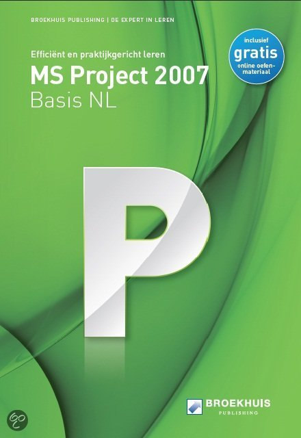MS Project 2007 Basis NL