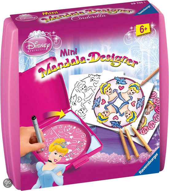 Disney Princess - Mini Mandala Designer