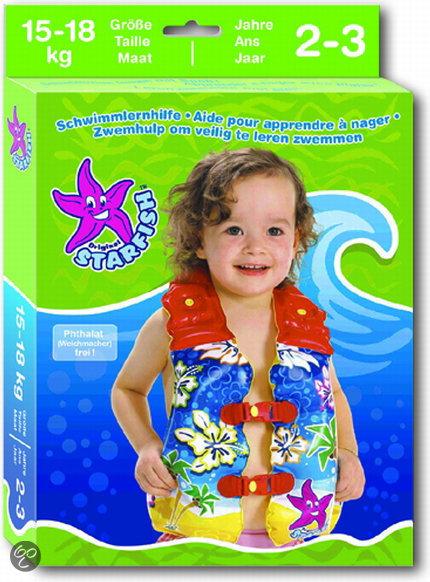 Starfish zwemvest maat b starfish for Poppenhuis kind 2 jaar