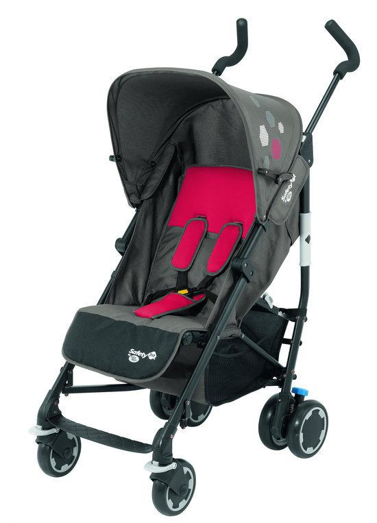 Safety 1st - Buggy Compa'city - Red Mania