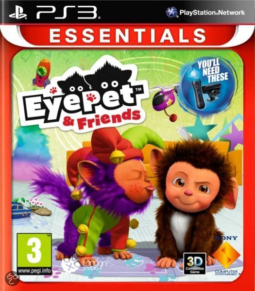 Eyepet + Friends - PlayStation Move - Essentials Edition