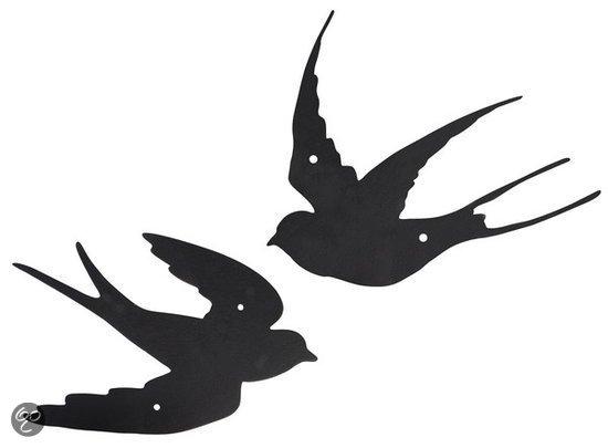 Gereedschap Als Muurdecoratie : Bol muurdecoratie zwaluw assorti