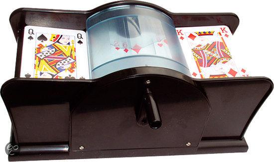 Afbeelding van het spel Kaarten schudder handmatig