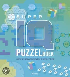 Super IQ puzzelboek