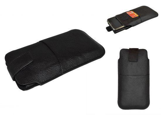 Sleeve voor uw Motorola Defy Plus, Telefoonhoes XL Handgemaakt, Zwart, merk i12Cover in Ucimont
