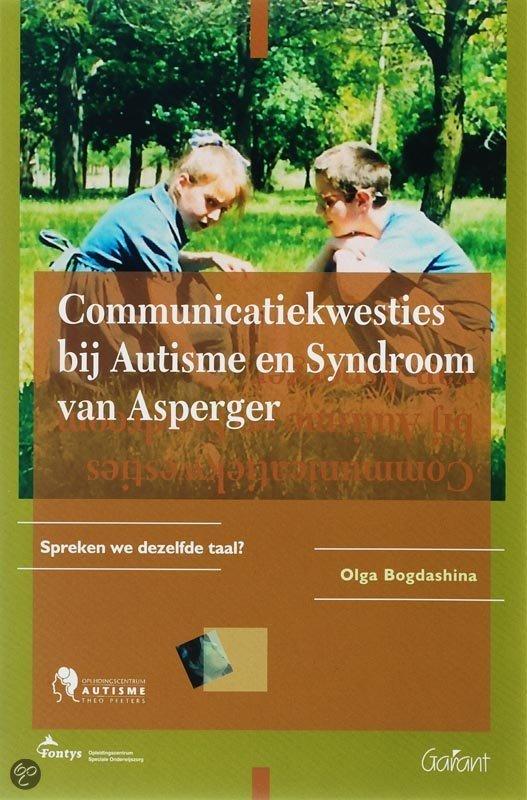 Communicatiekwesties bij autisme en syndroom van asperger