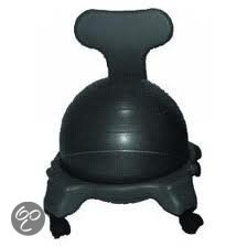 Balstoel voor volwassenen - zitbal - inclusief pomp